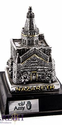 Annunciation-Church-Figure-Jesus-Home-Nazareth-Statue-Silver-Plated-925-37-0