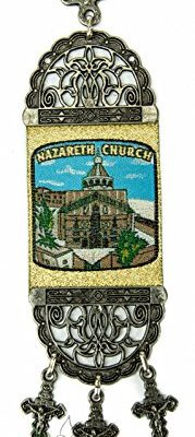 Annunciation-Church-Of-Nazareth-Hanging-Wall-Tapestry-Icon-Banner-Holy-Land-86-0