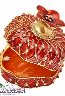 Beautiful-Bejeweled-Pomegranate-with-Crystals-Jewelry-Trinket-Box-Holy-Land-0
