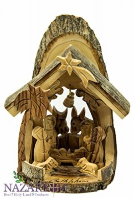 Beautiful-Hand-Carved-Olive-Wood-Nativity-Set-with-Bethlehem-Star-Holy-Land-6-0