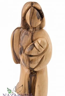 Beautiful-Olive-Wood-Hand-Carved-Angel-Figurine-43-Christian-Gift-Holy-Land-0