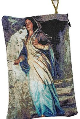 Blessed-Virgin-Mary-Icon-Pouch-Tapestry-Prayer-Keepsake-Case-Nazareth-83-BIG-0