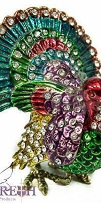 Enameled-Courting-Turkey-Trinket-Box-Bejeweled-Zircon-Jewelry-Box-31-Holy-Land-0