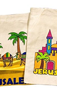 Handmade-Handbag-Cross-Shoulder-Bag-Jerusalem-Holy-Land-Cotton-Velcro-Closure-0