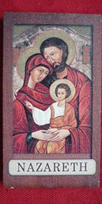 Holy-Family-Wood-Magnet-Handmade-Souvenir-Virgin-Mary-Jesus-Joseph-Holy-Land-0