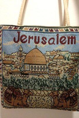 Jerusalem-Camel-Handmade-Hand-bag-Hand-Bag-Zipper-Cloth-Beautiful-Holy-Land-0