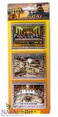 Jesus-Last-Supper-Holy-Places-3-Pcs-Magnet-Set-Holy-Land-Souvenir-Jerusalem-Gift-0