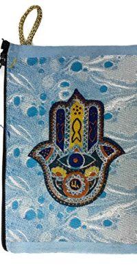 Jewish-Hamsa-Evil-Eye-Protection-Pouch-Keepsake-Bag-Case-From-Jerusalem-57-0