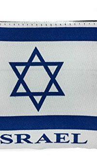 Jewish-ISRAEL-Flag-Pouch-Keepsake-Bag-Banner-Case-From-Jerusalem-57-0