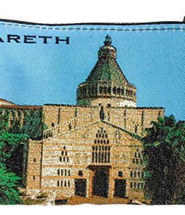 Nazareth-Annunciation-Church-Rosary-Icon-Pouch-Tapestry-Prayer-Keepsake-Case-0