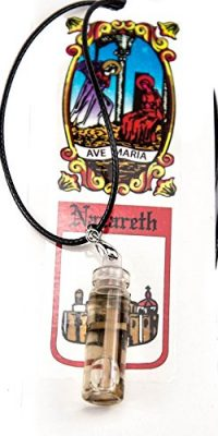 Olive-Wood-Cross-inside-Anointing-Oil-Bottle-Pendant-Black-Necklace-Nazareth-0