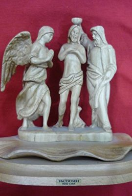 The-Baptism-of-Christ-Religious-Jesus-Statue-Olive-Wood-Handmade-From-Bethlehem-0