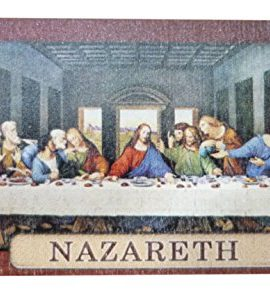 The-Last-Supper-Jesus-Wooden-Magnet-Handmade-Souvenir-Nazareth-Holy-Land-33-0