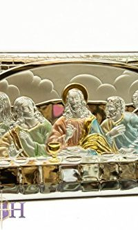 The-Last-Supper-of-Jesus-91-Sterling-Silver-950-Icon-Plaque-From-Jerusalem-0