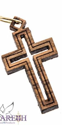 Unique-Hand-Made-Olive-Wood-Crucifix-Cross-From-Jerusalem-Holy-Land-Israel-0