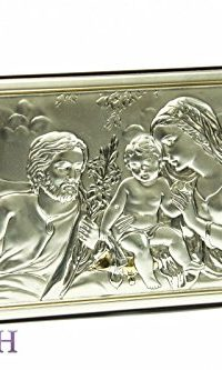 Unique-Holy-Family-Icon-Italian-Silver-950-With-9K-Gold-Handmade-87-Jerusalem-0