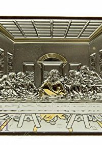 Unique-Last-Supper-Of-Jesus-Icon-Italian-Sterling-Silver-950-With-9K-Gold-Parts-0