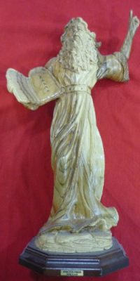 Very-Rare-Olive-Wood-Moses-with-Ten-Commandments-By-Facouseh-Statue-Figurine-138-From-Holy-Land-0