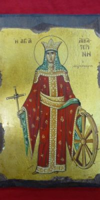 Saint-Anne-Holy-Mother-of-Mary-Handmade-Byzantine-Icon-From-Jerusalem-0