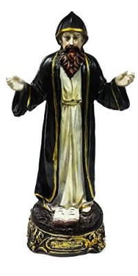 Unique-SAINT-CHARBEL-MAKHLUF-Figurine-Hand-Painted-Resin-Statue-Holy-Land-118-0