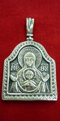 Virgin-Mary-with-Baby-Jesus-Silver-925-Pendant-11-Medal-From-Holy-Land-0