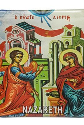 Annunciation-of-Virgin-Mary-Magntic-Icon-Picture-Nazareth-Keepsake-Holy-Land-0
