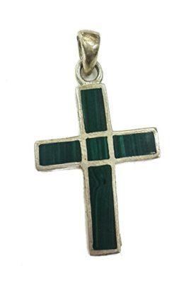 Genuine-Crucifix-King-Solomon-Eilat-Stone-Cross-Silver-925-Handmade-Jerusalem-0