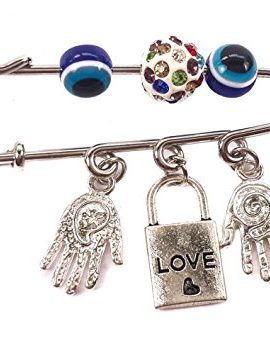 Hamsa-Hands-Silver-Plated-Charm-Pin-Stroller-Love-Colorful-Zircons-Amulet-0