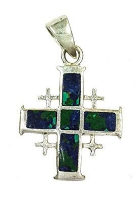 Jerusalem-Cross-King-Solomon-Eilat-Stone-Silver-925-Handmade-Holy-Land-1-0
