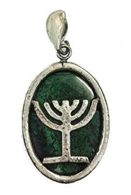 King-Solomon-Eilat-Stone-7-Branches-Menorah-Silver-925-Pendant-Jerusalem-13-0