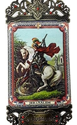 Saint-George-Wall-Hanging-Tapestry-Icon-Banner-Zircon-Crystals-Jerusalem-61-0