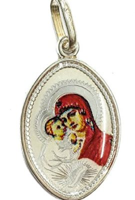 Two-Sided-Pendant-Silver-925-Virgin-Mary-and-Jesus-Christ-Jerusalem-Amulet-11-0