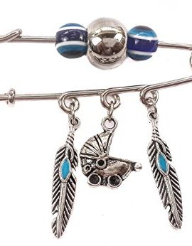 Unique-Silver-Plated-Charm-Pin-Stroller-Baby-carriage-Evil-Eye-Protection-Beads-0