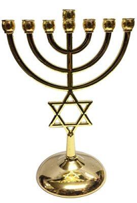 Brass-Gold-Jerusalem-Temple-Menora-7-Branches-Menorah-Star-Of-David-Israel-71-0