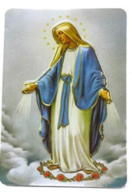 Miraculous-Virgin-Mary-Jesus-2D-Icon-Magnet-Holy-Land-Keepsake-39-0