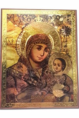 Mary-Bethlehem-Infant-Jesus-Russian-Icon-Plaque-Blessed-Jerusalem-Souvenir-37-0-1