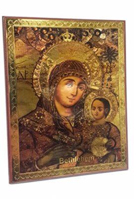 Mary-Bethlehem-Infant-Jesus-Russian-Icon-Plaque-Blessed-Jerusalem-Souvenir-37-0