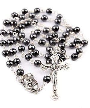 Hematite Rosary Black Stone