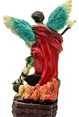 Archangel-St-Michael-Figure-Hand-Painted-Resin-Statue-From-Holy-Land-63-0-0