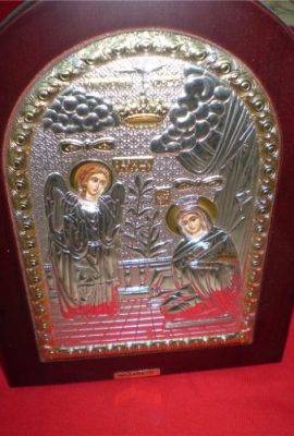 Beautiful-Silver-925-Icon-the-Annunciation-of-Virgin-Mary-At-Nazareth-0-0