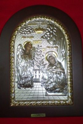 Beautiful-Silver-925-Icon-the-Annunciation-of-Virgin-Mary-At-Nazareth-0