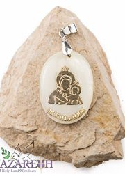 Bethlehem-Holy-Mary-with-Jesus-Mother-of-Pearl-Pendant-Madonna-Amulet-Handmade-0-1