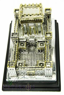 Big-Second-Temple-Jerusalem-Statue-Silver-Plated-925-Replica-Judaica-XL-7-0-0