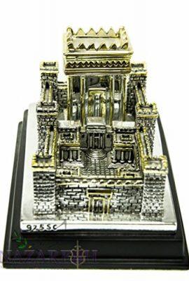 Big-Second-Temple-Jerusalem-Statue-Silver-Plated-925-Replica-Judaica-XL-7-0-1