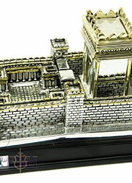 Big-Second-Temple-Jerusalem-Statue-Silver-Plated-925-Replica-Judaica-XL-7-0-2