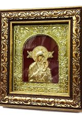 Blessed-Madonna-VIRGIN-MARY-with-Baby-JESUS-Wooden-Icon-from-JERUSALEM-8-0