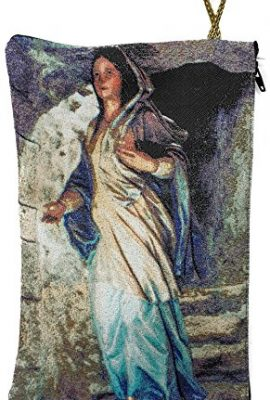 Blessed-Virgin-Mary-Icon-Pouch-Tapestry-Prayer-Keepsake-Case-Nazareth-83-BIG-0-0
