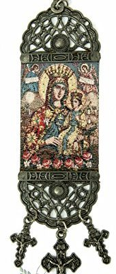 Blessed-Virgin-Mary-and-Jesus-Child-Hanging-Wall-Tapestry-Icon-Jerusalem-86-0