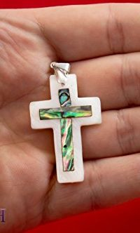 Cross-Mother-of-Pearl-Seashell-Pendant-Crucifix-Handmade-From-Bethlehem-16-0-0