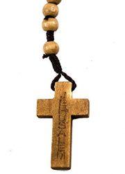 Dozen-Catholic-Praying-Rosary-Jesus-Crucifix-Jerusalem-Olive-Wood-Beads-124-0-2